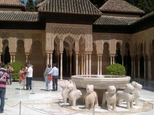 Alhambra,Lví dvůr
