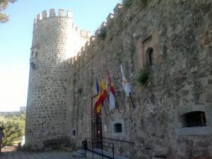 Na tomto hradě jsme strávili noc