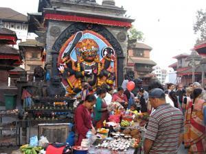 Svátek pouštění draků v Nepálu