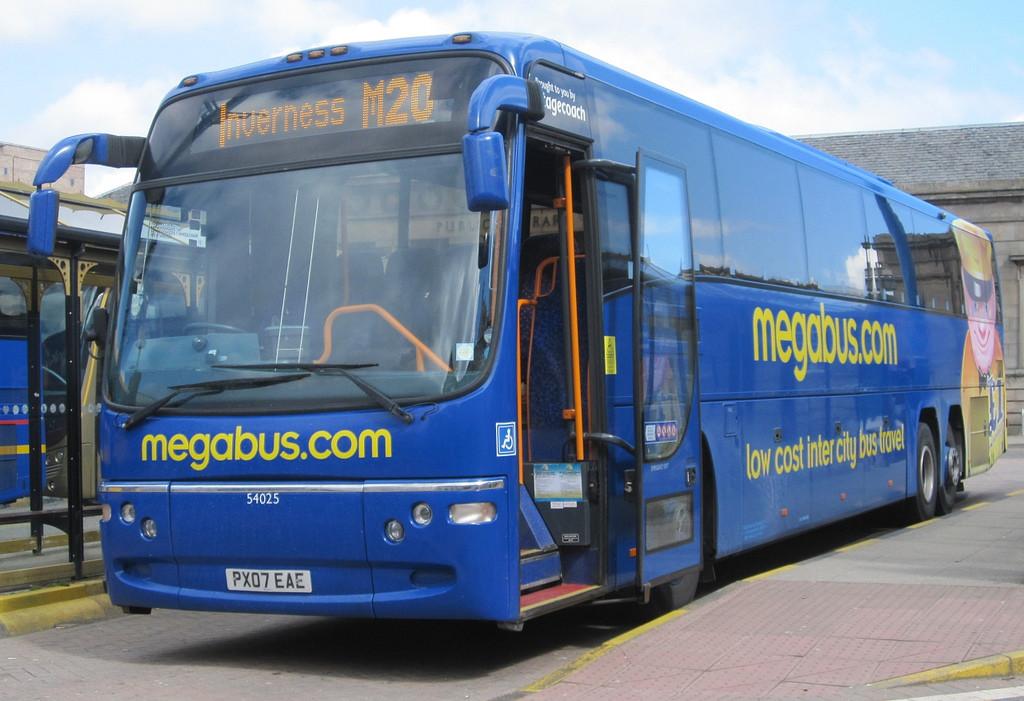 Megabus - jízdenky za 1$