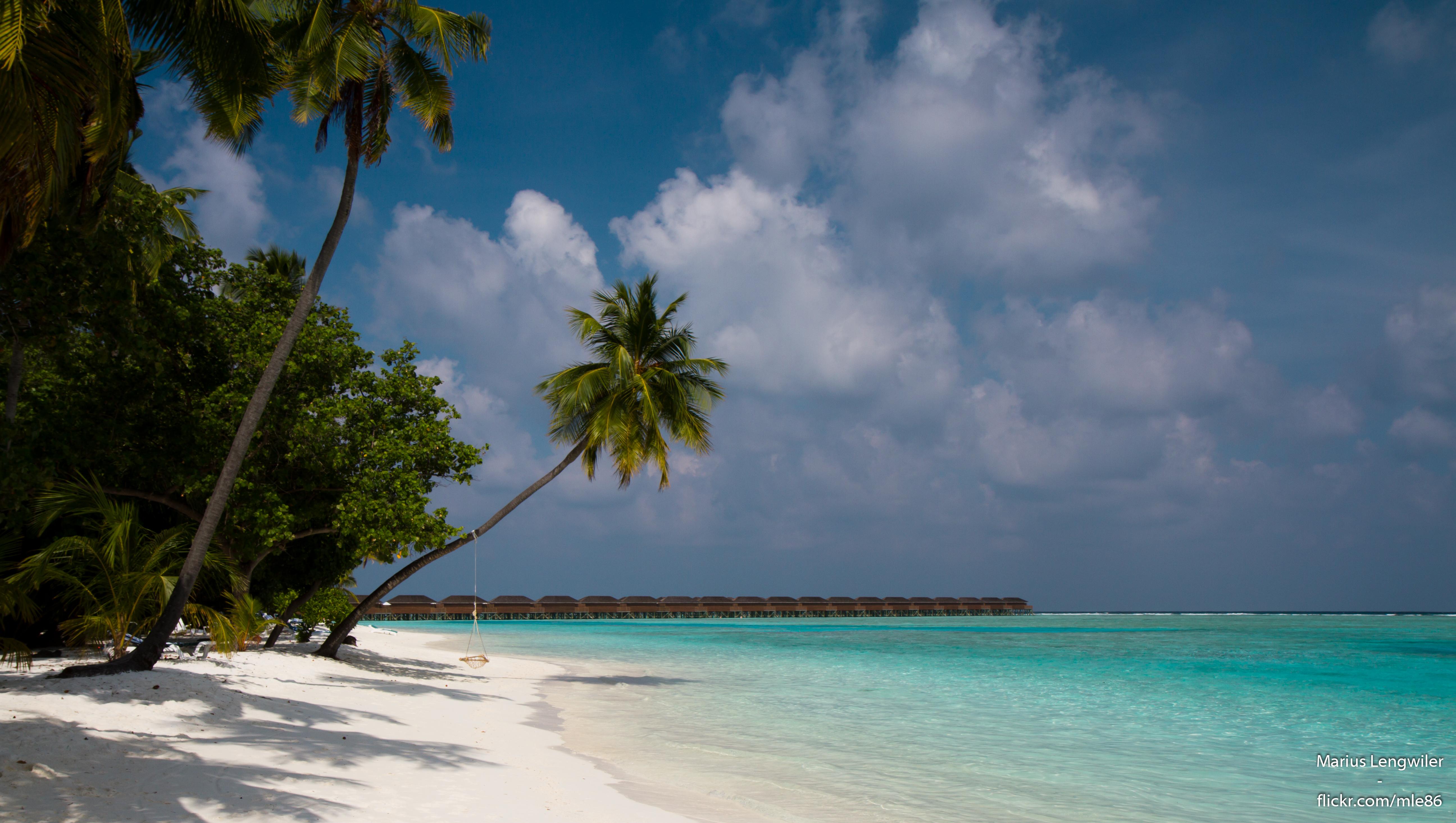 Maledivy - ostrov Meeru