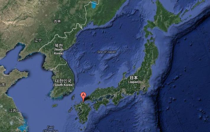Město Kitakyushu se nachází na jihu Japonska