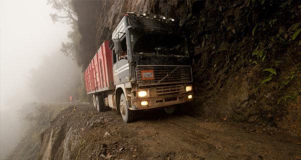 Mnoho řidičů zde přecení své síly - Yungas road