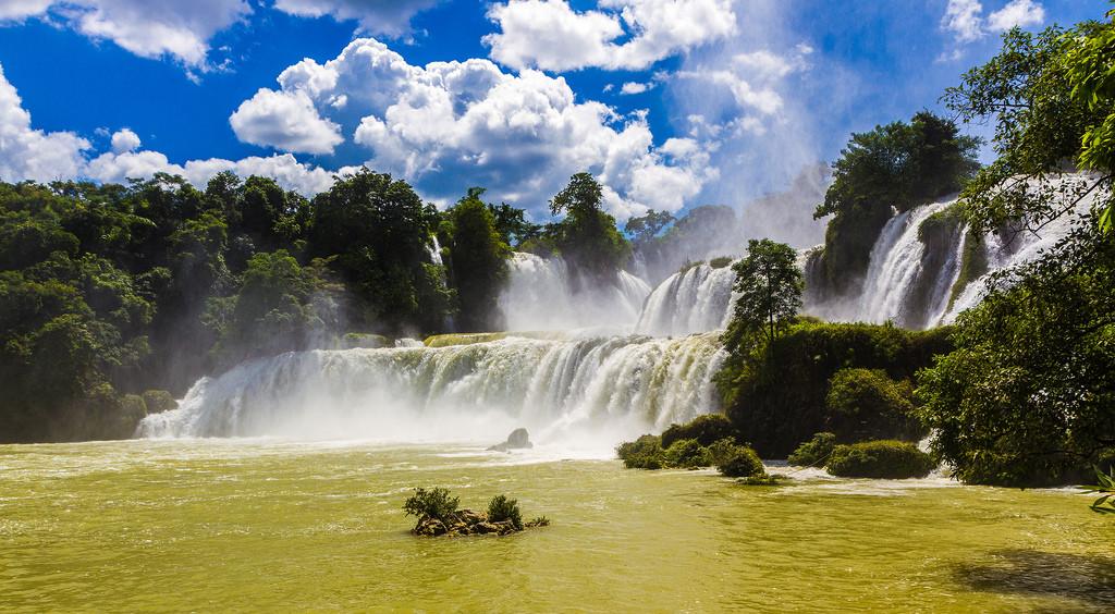 Ben Gioc vodopády, Zdroj: flickr, Martin Pilát