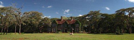 Giraffe manor - Keňa, Nairobi