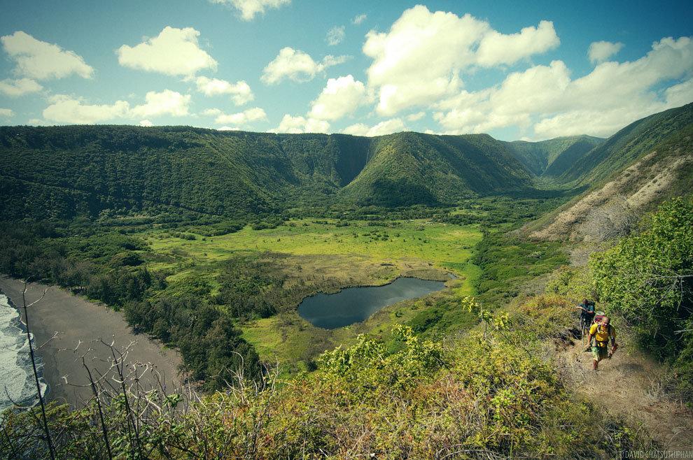 Údolí Waipio bez úprav