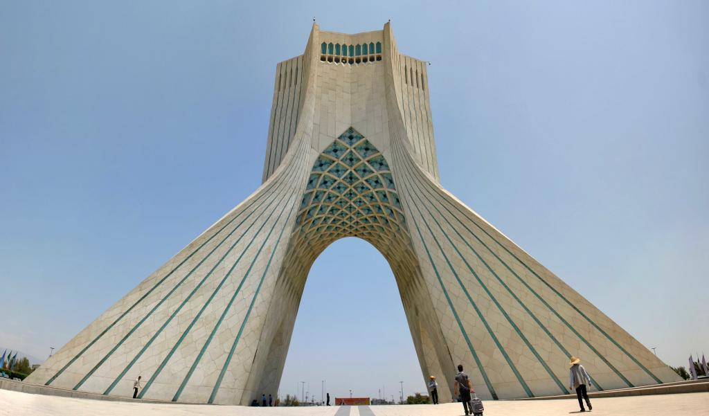 Íránský oblouk je jedna z hlavních historických památek
