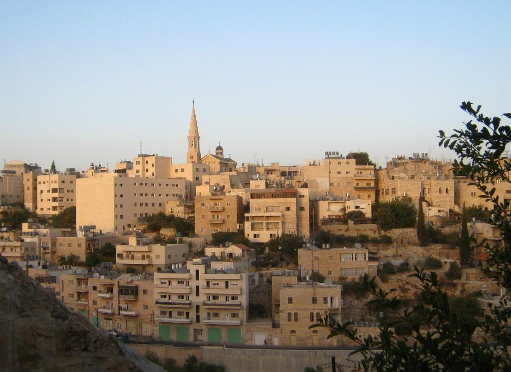 Město Betlém v celé své kráse
