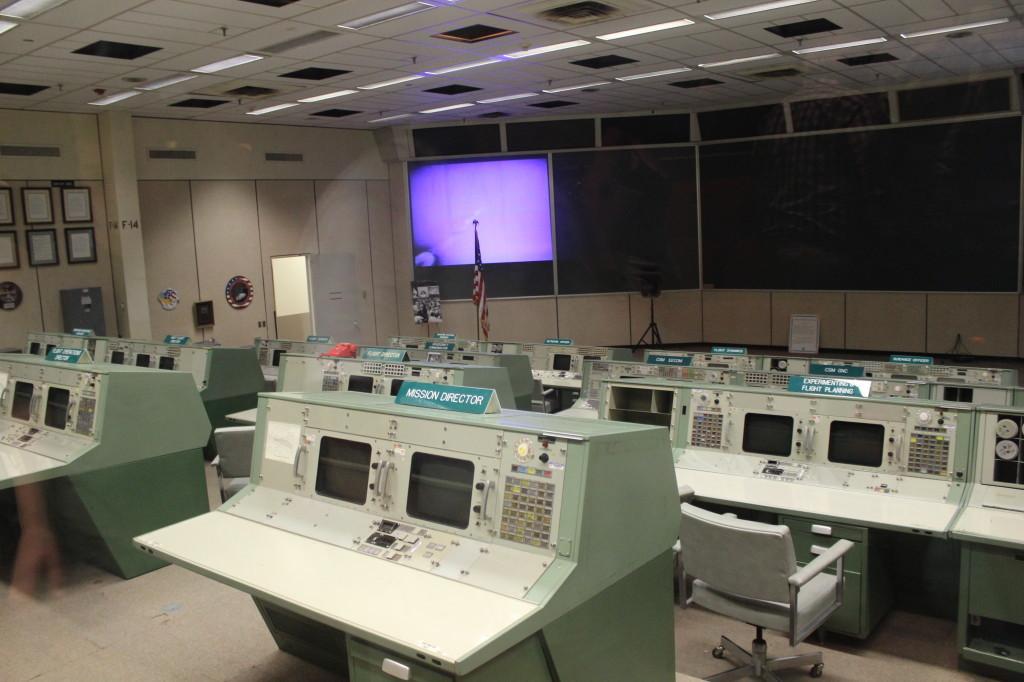 NASA centrum - Houston
