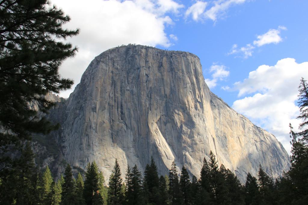 El Capitan v Yosemitském národním parku