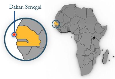 Dakar je nejzápadnějším výběžkem Afriky