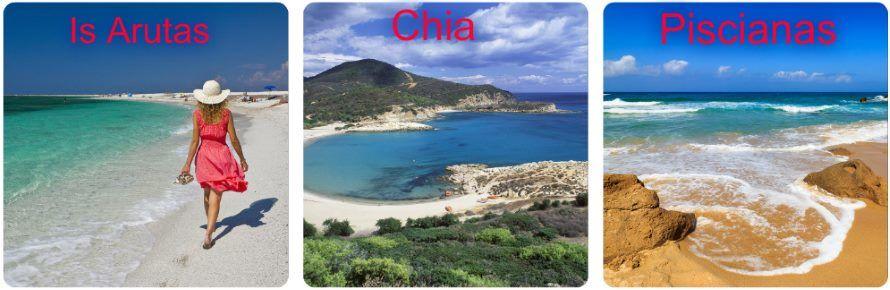 TOP 3 pláže na Sardínii