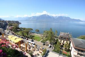 Výhled na Ženevské jezero