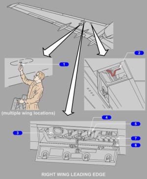 Panel pro spodní (tlakové) plnění pod křídlem