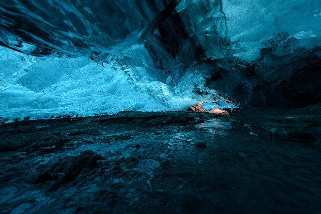 Ledovcová jeskyně Skaftafell