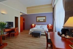 Belvedere - pokoje jsou vybaveny velmi moderně
