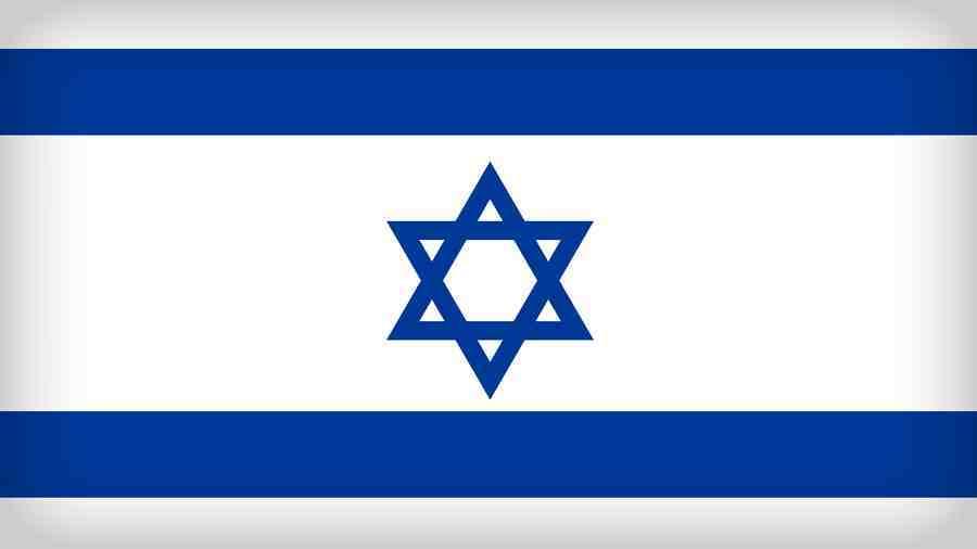 Izrael - státní vlajka