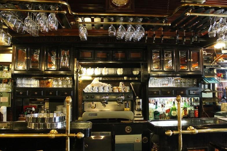 Jeden z mnoha chorvatských barů