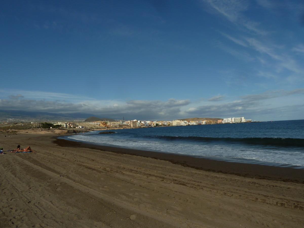 Pláž El Medano na Tenerife