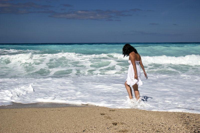 Kráska v moři
