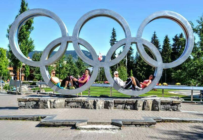 Návštěva Olympijského parku ve Whistleru