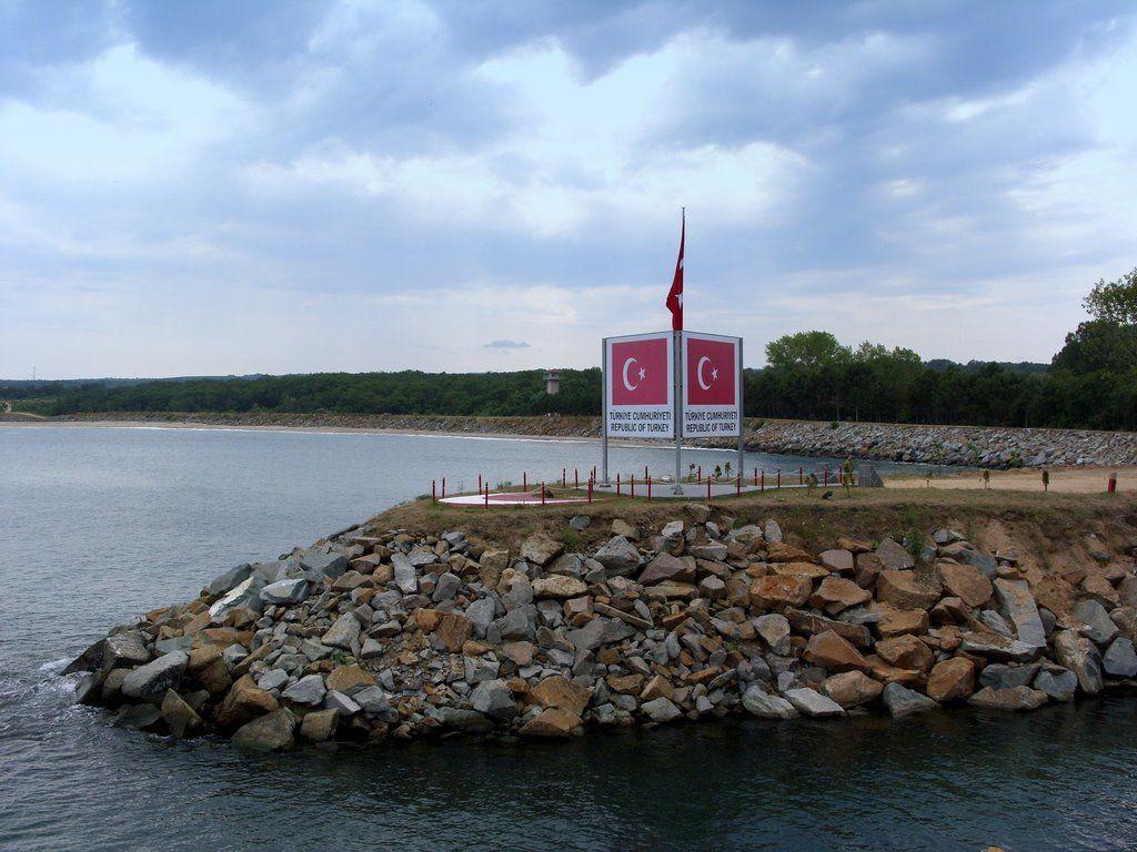 Na kraji Rezova již vlaje vlajka Turecka