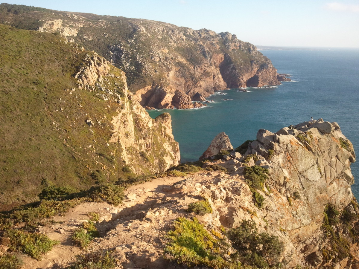 Cabo de Roca - nejzápadnější cíp kontinentální Evropy