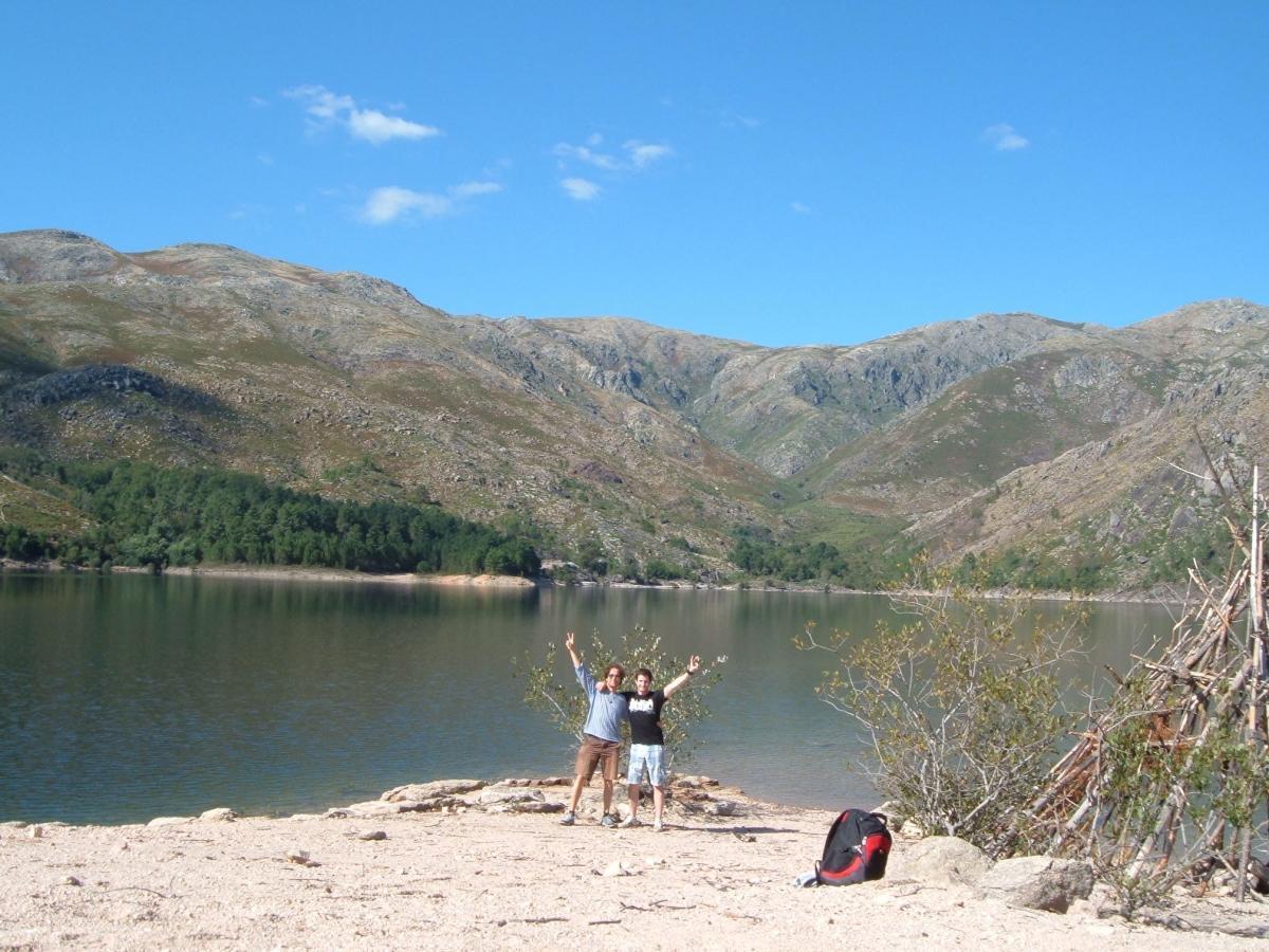 Jezero v NP Géres
