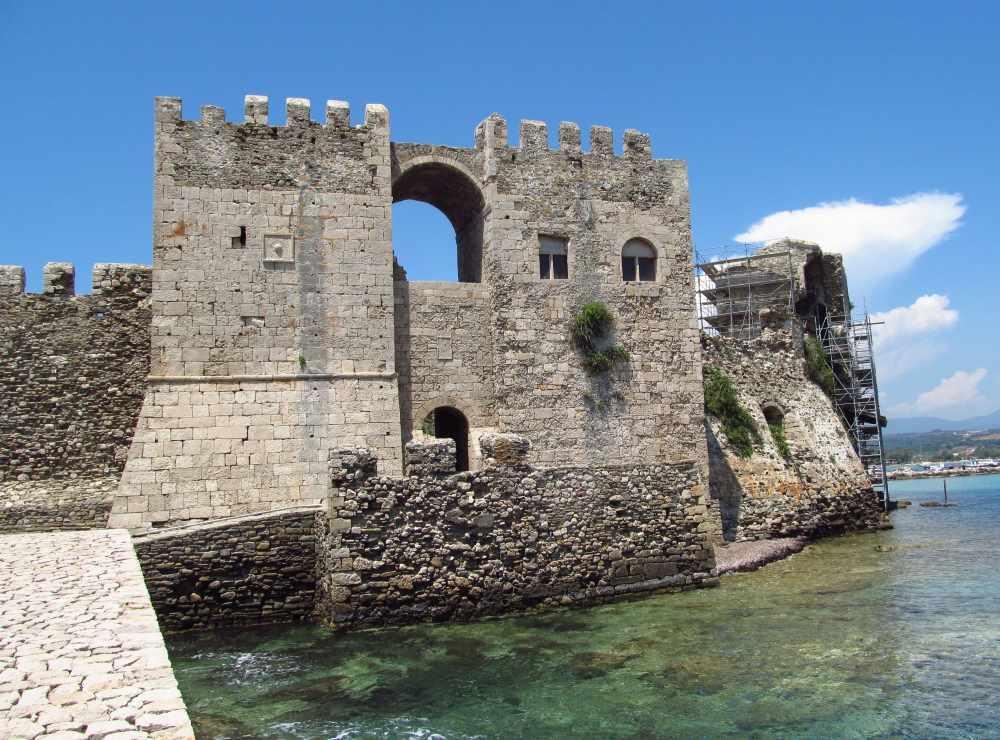 Pevnost v Methóni