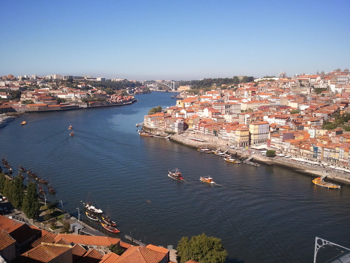 Západ slunce v Porto
