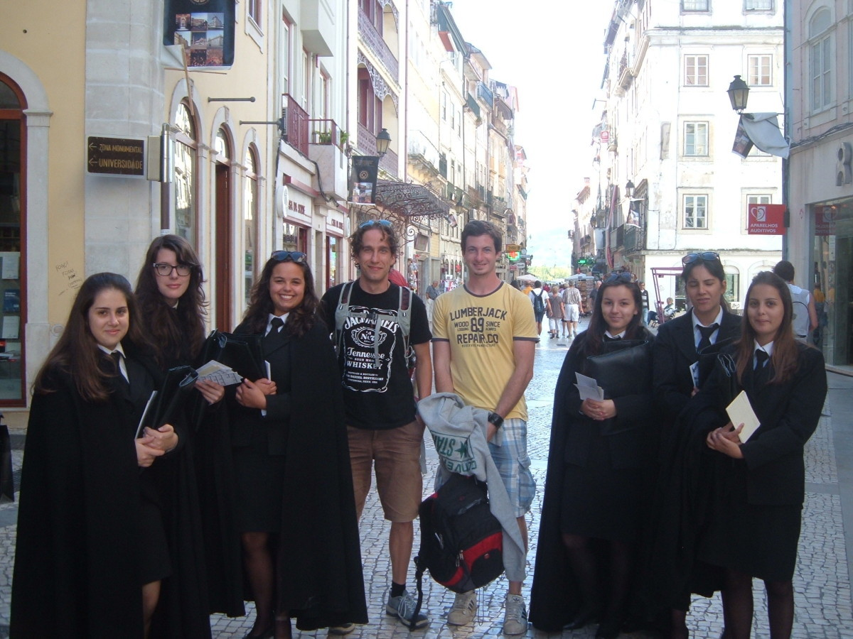 Studenti z Coimbry