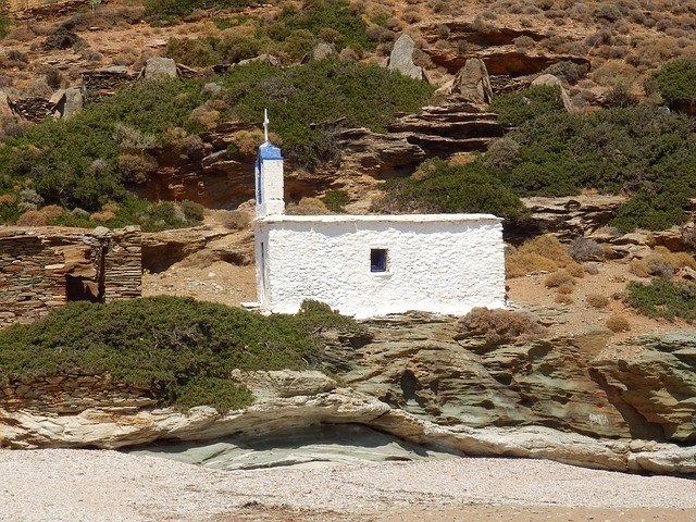 Pravý řecký kostelík