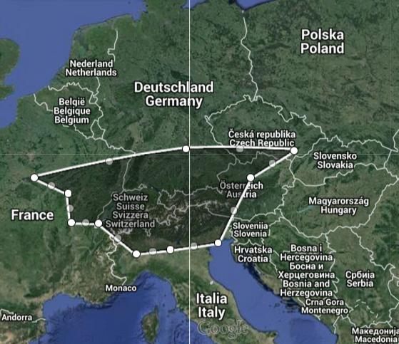 Plán našeho Eurotripu