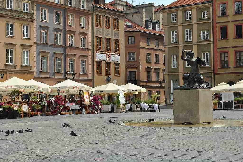 Náměstí ve Varšavě