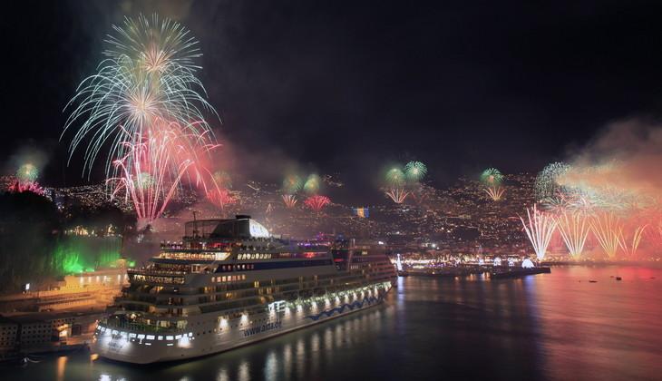Oslavy nového roku na Madeiře