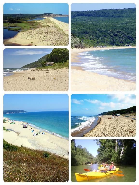 Bulharské pláže