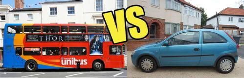 Autobus nebo auto?