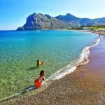 Moře na Rhodosu v celé své kráse