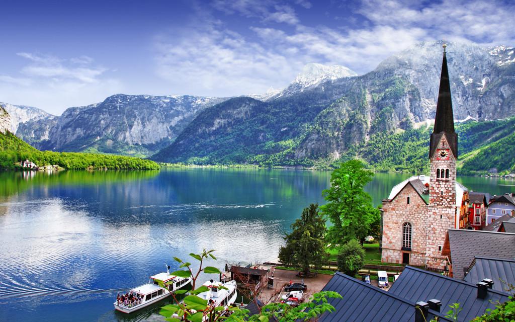 Vysokohorská jezera v Rakousku vyzařují klidem