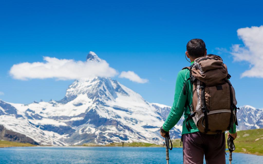 Panorama Rakouských Alp je nezapomenutelné