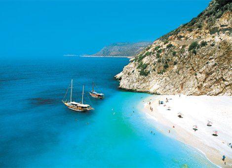 Pláže v Turecku