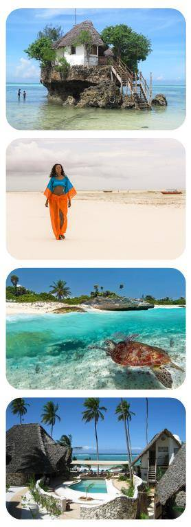 Dovolená Zanzibar