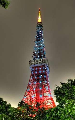 Tokyo a jeho věž