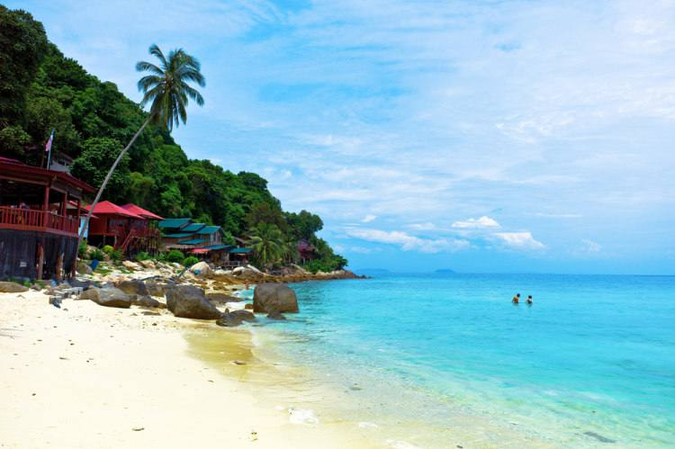 Teplota moře v Malajsii