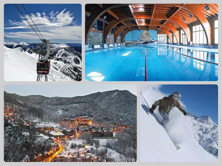 Lyžování a wellness v Andoře