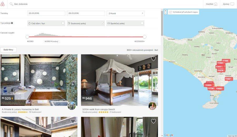 Například ubytování na Bali je více než luxusní a za minimální ceny