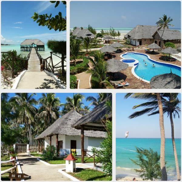 Zanzibar bungalowy a resort