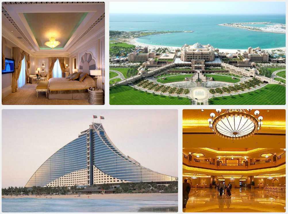 Luxus v Arabských emirátech
