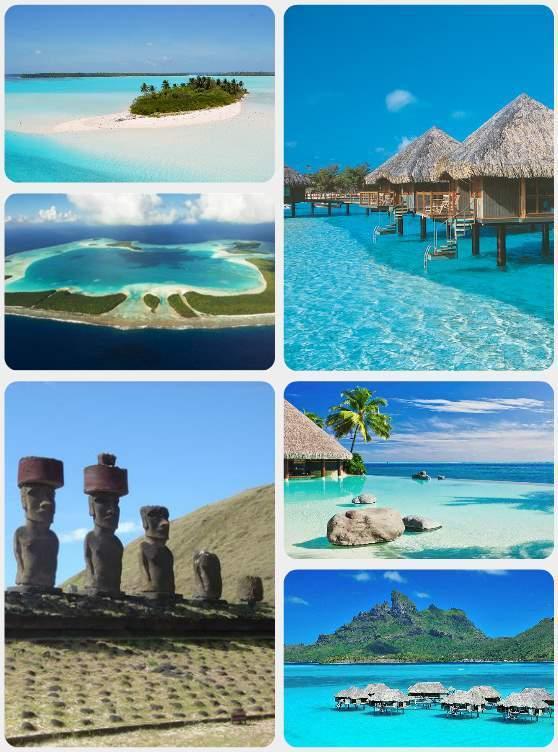 Velikonoční ostrov a Tahiti
