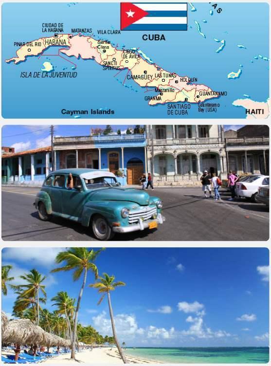 Pláže, krásná kultura = to je ostrov Kuba